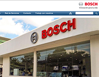 Bosch Ecuador Website
