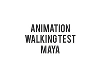 MAYA animation Test