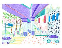 Urban Sketching in Taiwan