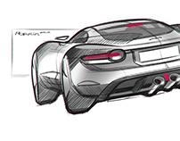 Jaguar Sketches