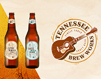 Tennessee Brew Works identity system