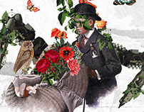 Collage Artwork 124-126