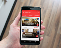 Android App Concept for OYO Rooms