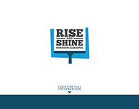 Rise And Shine Logo Concept