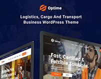 Optime - Logistics & Transportation WordPress Theme