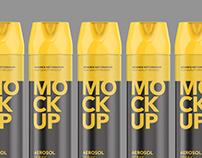 Aerosol Spray - Mockup