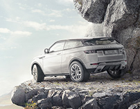 RANGE ROVER 4x4 Photography and retouch