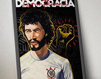 Poster Democracia Corinthiana