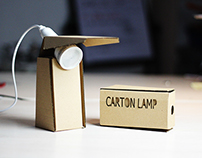Carton Lamp