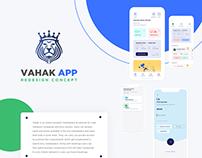 Vahak App - Redesign Concept