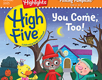 High Five Cover - October Issue