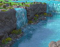 Niagara Falls 3d model