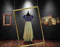 Photo manipulation and beautification of dresses