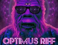 Optimus Riff Dirtrag Dirtfest Gig Poster