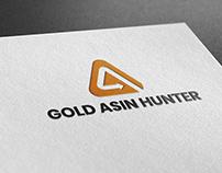 Gold Asin Hunter Logo Design