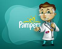 Pampers • Character Design/Illustration