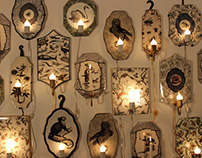 New Ceramic Sconce lighting