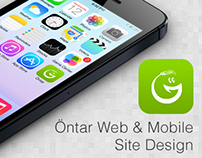Öntar Web & Mobile Site Design