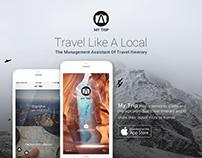 My Trip App Design