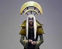 MUMU, white queen