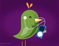 OCTA VanPool commuter birds