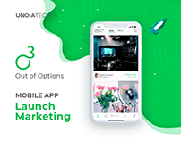 Out Of Options: Mobile App Launch Marketing
