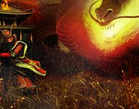 Fire Dragon Battle