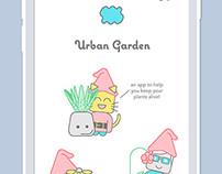Urban Garden - App Design