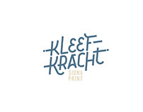 Kleefkracht - Sign & Print