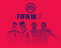 FIFA 18 UI Concept Design | Includes Video