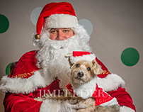 Santa Paws at Mann's Best Friend Pet Store