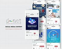 D~NET Social Media Design