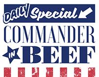 Commander in Beef