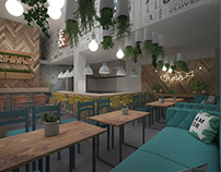 Seafood Restaurant | 3D Visualization