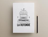 Identité visuelle La Rotonde