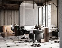 "Beauty salon ""vinci"" CGI"