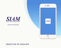 SIAM IOS Mobile App Design