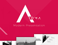 AROMA - MODERN POWERPOINT TEMPLATE