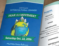 Intercultural Dinner Poster & program