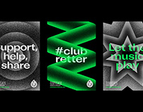 Club Goods, a product brand for Hamburg's music clubs.