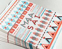 Maasai Letterpress