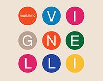 SFMOMA Artist Poster Series - Massimo Vignelli