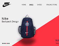 Nike Webpage Design