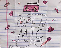 Open Mic Valentines Day