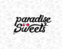 paradise sweets ( logo development )