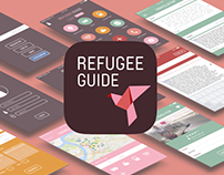 Refugee guide | App concept