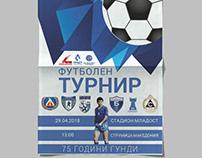 Levski Tournament Poster