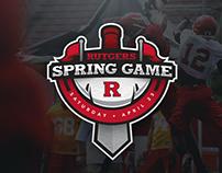 Rutger Spring Game Logo