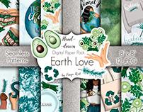 Earth Love Digital Paper