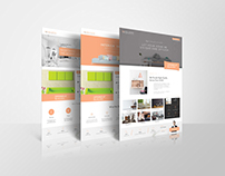 Interior Design Agency Flyers